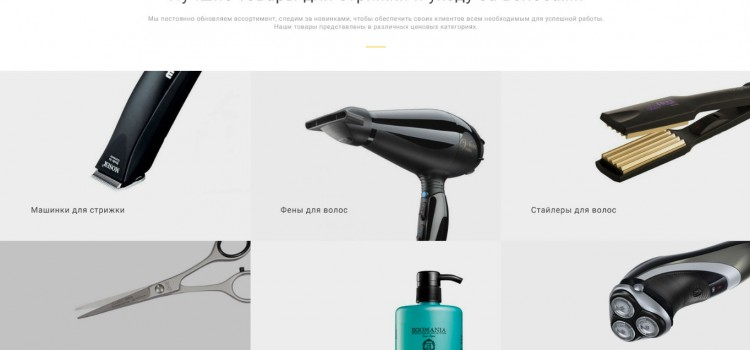 Создание интернет-магазина товаров для ухода за волосами Joypet.ru